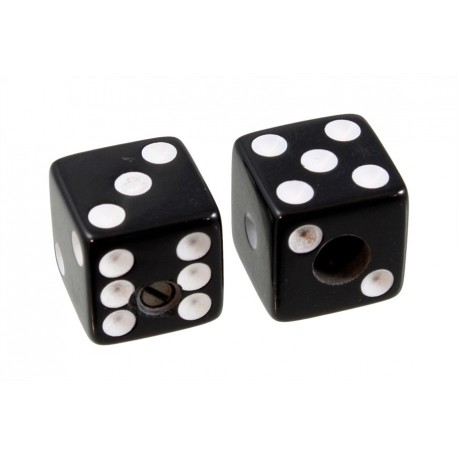 Allparts Black Dice Knobs