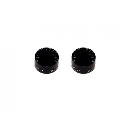 Allparts Speed Knob Set 0-11 Black