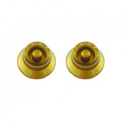 Allparts Bell Knobs 0-11 Gold