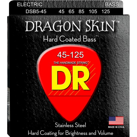 DR Strings DSB5-45 Medium 5's