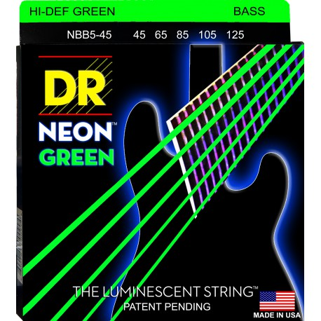 DR Strings NGB5-45 Medium 5's