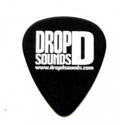 Drop-D Sounds Pitch Black Tortex Pick