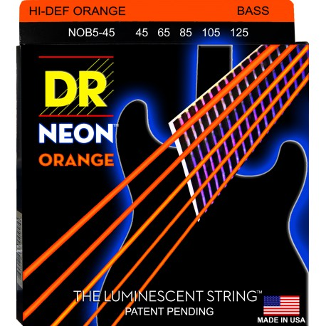 DR Strings NOB5-45 Heavy