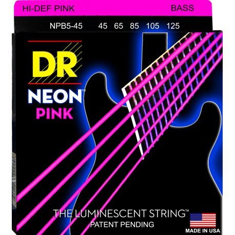 DR Strings NPB5-45 Heavy