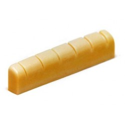 Allparts Unbleached Slotted Bone Nut for Gibson