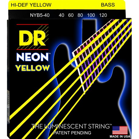 DR Strings NYB5-40 Lite 5's
