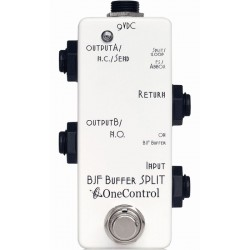 One Control BJF Buffer Split White
