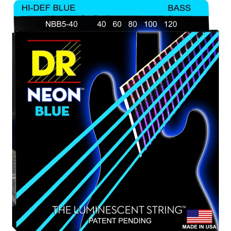 DR Strings NBB5-40 Lite 5's