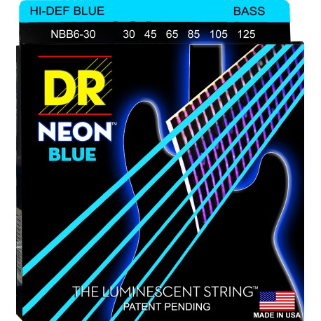 DR Strings NBB6-30 Medium 6's