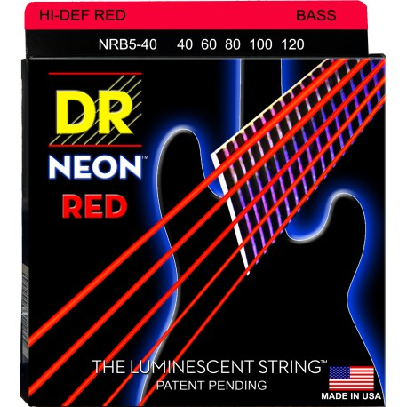 DR Strings NRB5-40 Lite 5's