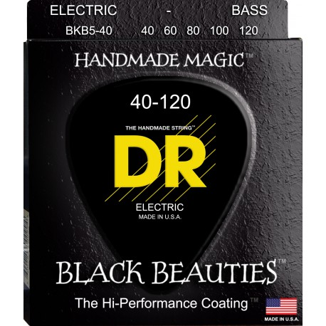 DR Strings BKB5-40 Lite 4 String with 120