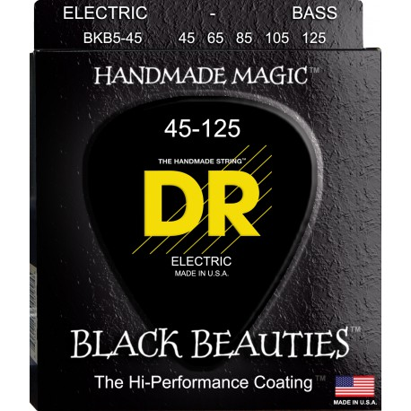 DR Strings BKB5-45 Medium 5's