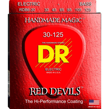 DR Strings RDB6-30 Medium 6's