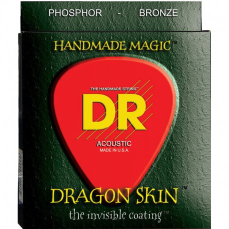 DR Strings Dragon Skin Acoustic DSA10 Lite