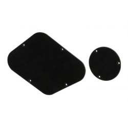 Allparts Backplates for Gibson LP Black