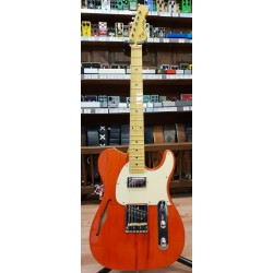 G&L Asat Classic Bluesboy Semihollow Clear Orange