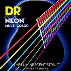 DR Strings Multi Color Acoustic MCA-11 Medium-Light