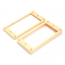 Allparts Humbucking Pickup Rings Curved Cream