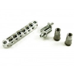 TonePros TPFR Tune-o-matic Roller Bridge Chrome
