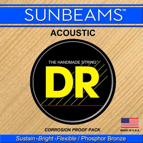 DR Strings Sunbeams Acoustic RCA12 Medium