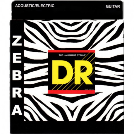 DR Strings Zebra ZAE-11 Lite - Medium