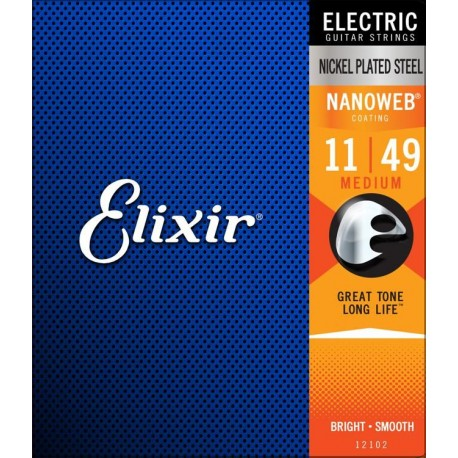 Elixir Electric Nanoweb Medium