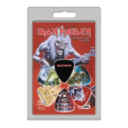 6 Pack Of Iron Maiden Official Licensing Guitar Picks