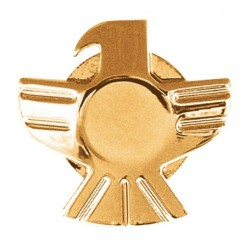 Grover Eagle Gold Strap Button