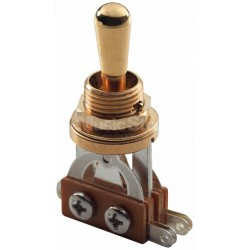 MEC 3-Way Toggle Switch Gold