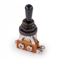 MEC 3-Way Toggle Switch Black