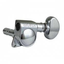 Grover 406C6 Mini Locking Rotomatics 6L Chrome