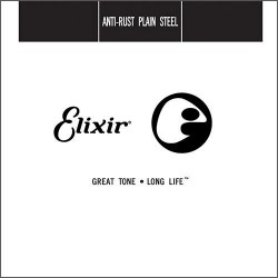Elixir Anti-Rust Plain Steel Strings