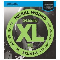 Daddario EXL165-5 Bass