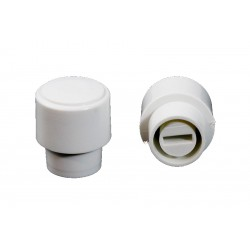 Allparts White Vintage Style Switch Knobs for Tele