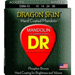 DR Strings Dragonskins Mandolin 10-36