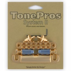 Tonepros LPM04 Bridge and Tailpiece Set Gold