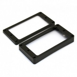 Allparts Humbucking Pickup Rings Slanted Black