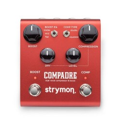 Strymon Compadre Dual Voice Compressor and Clean/Dirty Boost