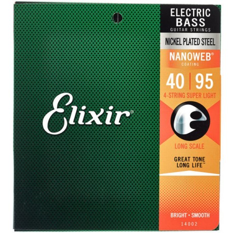 Elixir Bass Strings Super-Light Long Scale