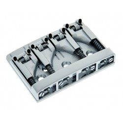 Schaller 3D-4 Bass Bridge Chrome