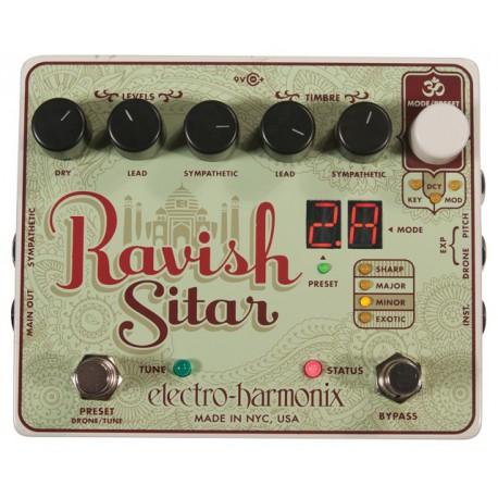 Electro Harmonix Ravish Sitar Sitar Emulator