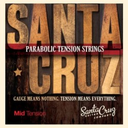 Santa Cruz Mid Tension Acoustic Guitar Strings