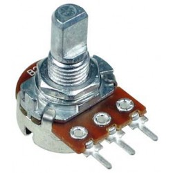 Alpha 250K D Shaft PC Linear Taper Potentiometer