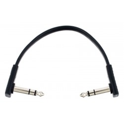 RockBoard Flat TRS Cable Black 15 cm
