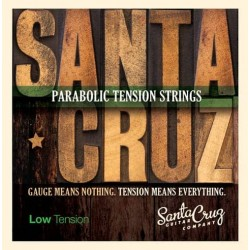 Santa Cruz Low Tension Acoustic Guitar Strings