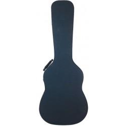 RockCase Classical Guitar Hardshell Case Curved - Black