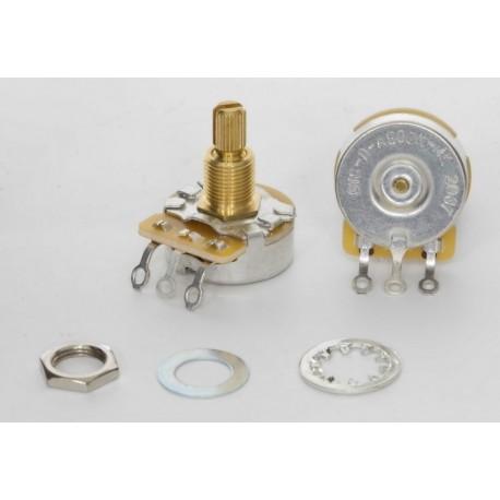 TAD CTS 500K Vintage Audio Dimple Potentiometer Medium Shaft