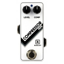 Keeley Compressor Arctic White Mini Limited Edition