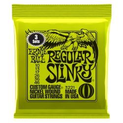 Ernie Ball Regular Slinky 3-Pack