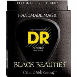 DR Strings Black Beauties BKE12 Heavy